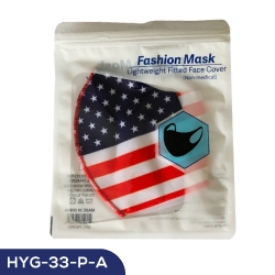 American Flag Face Mask HYG-34-P-A