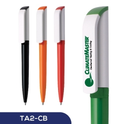 Anti-Bacterial Pens Tag Green TA2-CB