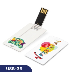 Card Shaped USB Flash 36 USB-36