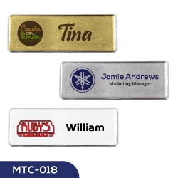 Lens Cover Name Badges MTC-018