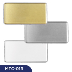 Lens Cover Name Badges MTC-019