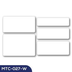 Aluminum Name Badge MTC-027-W
