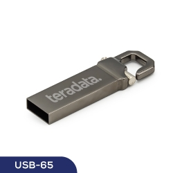 Metal Hook USB Flash 65