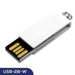 Mini Swivel Flash Drive USB-28-W
