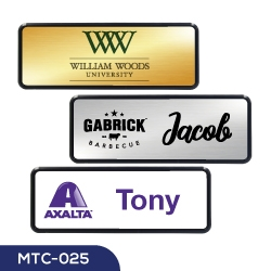 Reusable Name Badges MTC-025