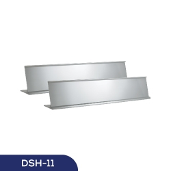 Silver Desk Sign Holder DSH-11