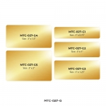 Aluminum Name Badge MTC-027-G