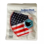 American Flag Face Mask in Pack HYG-34-P-A