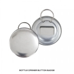 Bottle Opener Button Badge