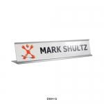 Silver Desk Sign Holder DSH-11