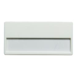 Insert Name Badge White MTC-015 White