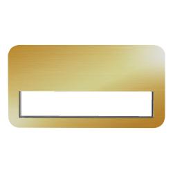 Reusable Insert Name Badge MTC-017 Gold
