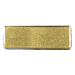 Lens Cover Name Badges Gold MTC-018-G