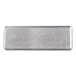 Reusable Name Badges Silver MTC-018-S