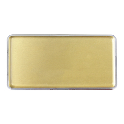 Lens Cover Name Badges Gold MTC-019-G