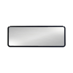Reusable Name Badges Silver MTC-025-S